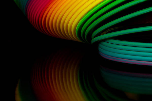 Photograph - Slinky II by Bob Cournoyer