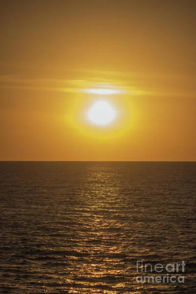 Photograph - Slipping Away Sun by Roberta Byram