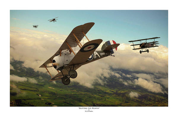 Wwi Wall Art - Digital Art - Slipping The Reaper - Titled by Mark Donoghue