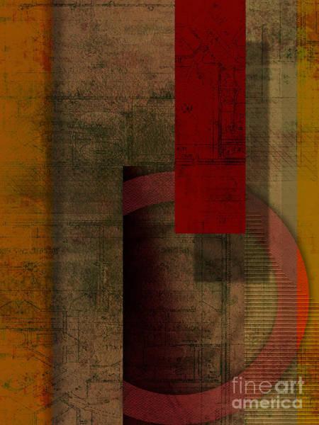 Wall Art - Digital Art - Slit by Peter Awax