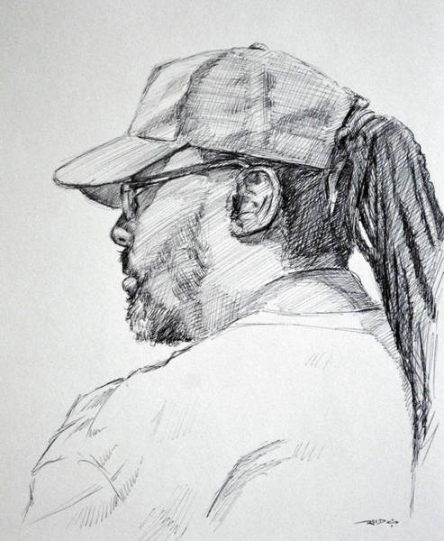 Drawing - Slo by Christopher Reid