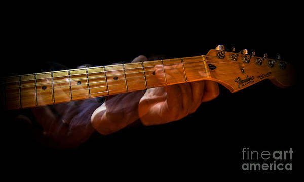 Strum Wall Art - Photograph - Slo - Hand by Robert Frederick