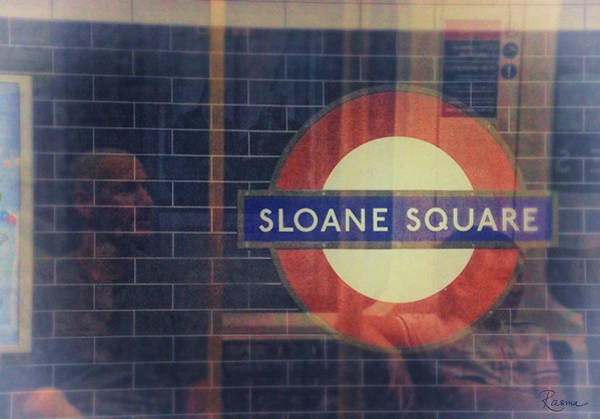 Photograph - Sloane Square Portrait by Rasma Bertz