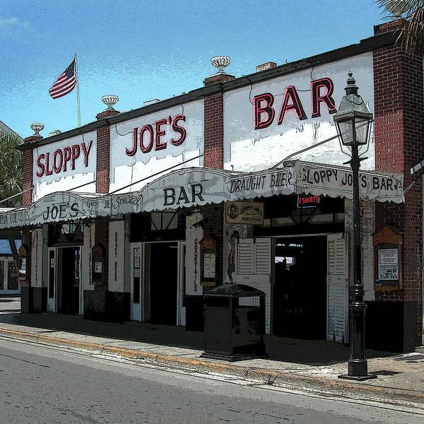 Photograph - Sloppy Joe's - Key West by Frank Mari