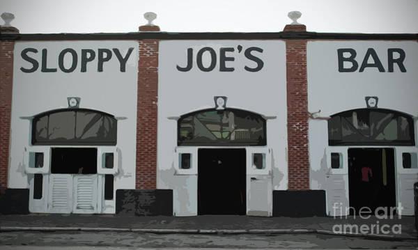 Photograph - Sloppy Joes Bar by Jost Houk