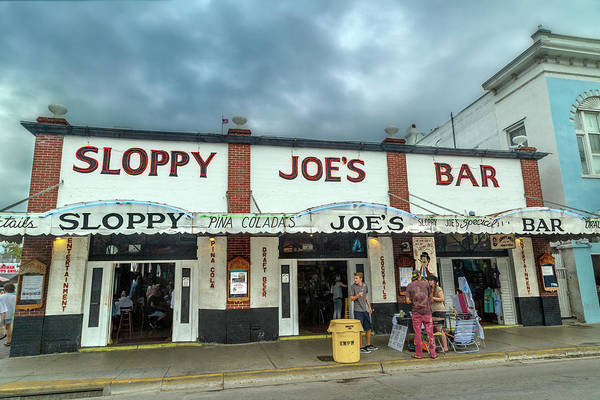 Wall Art - Photograph - Sloppy Joe's Bar Key West Florida by Betsy Knapp