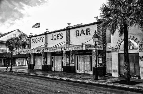 Photograph - Sloppy Joes In Black And White by Bill Cannon