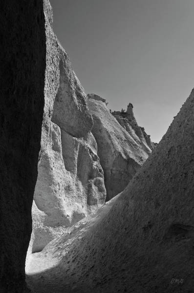 Photograph - Slot Canyon Bw I by David Gordon