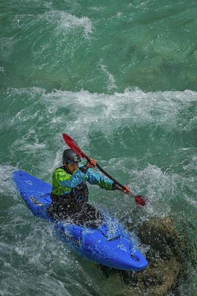 Photograph - Slovenia Kayaker by Stuart Litoff