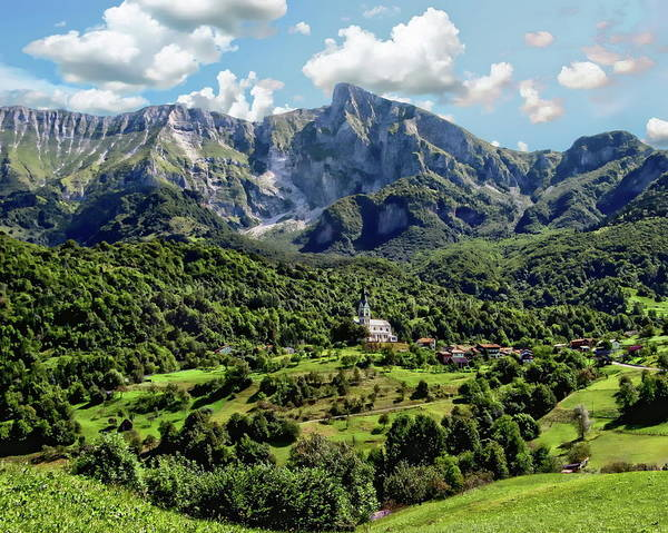 Photograph - Slovenia Landscape Scenic by Anthony Dezenzio