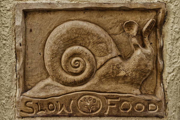 Photograph - Slow Food by Adam Rainoff