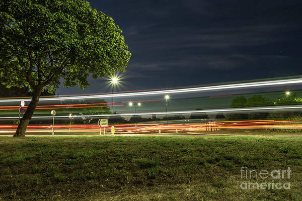 Photograph - Slow Shutter Double Decker by Clayton Bastiani