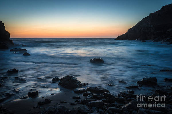 Wall Art - Photograph - Slow Water At Sunset by Amanda Elwell