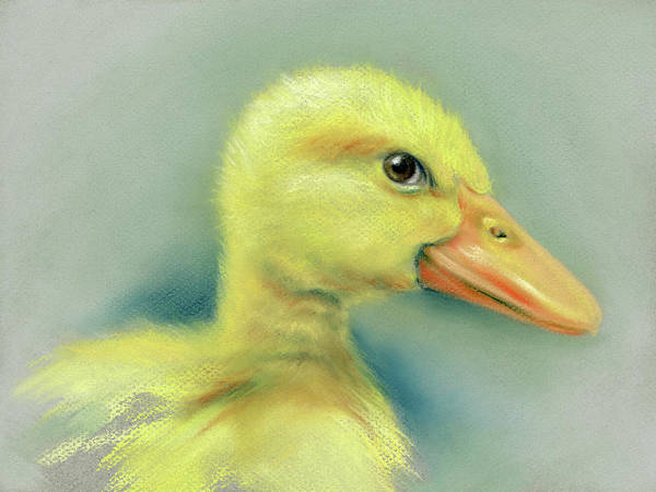 Pastel - Sly Little Duckling by MM Anderson