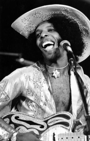 Sly Photograph - Sly Of Sly And The Family Stone, 1974 by Everett