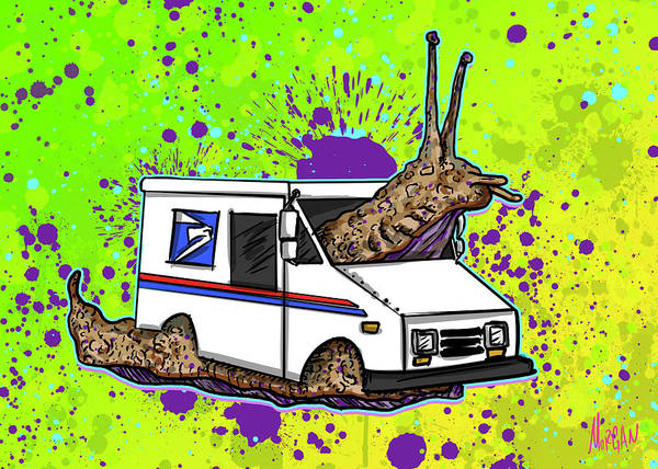Truck Digital Art - Smail by Morgan Richardson