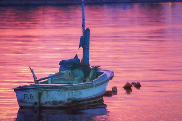 Photograph - Small Boat At Dawn Havana Cuba  by Joan Carroll