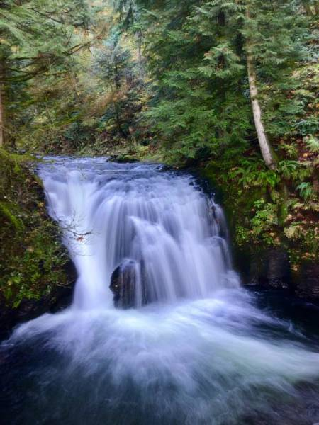 Photograph - Small Cascade by Brian Eberly