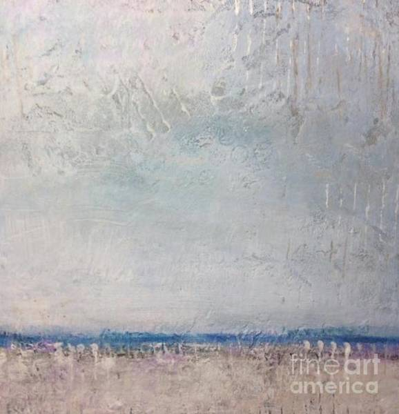 Wall Art - Painting - Small Cool Skies by Kate Marion Lapierre