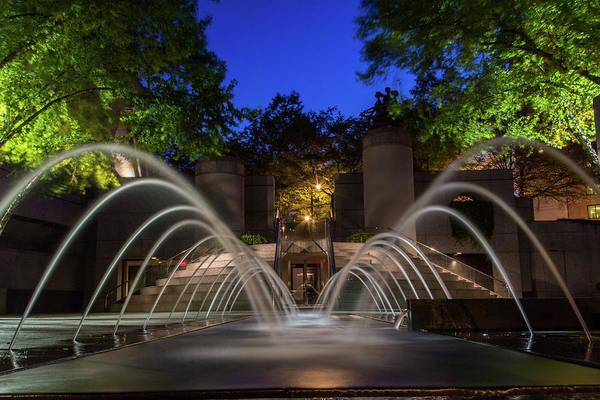 Photograph - Small Fountain by Kenny Thomas
