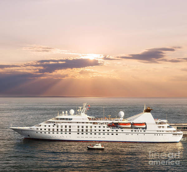 Wall Art - Photograph - Small Luxury Cruise Ship by Elena Elisseeva