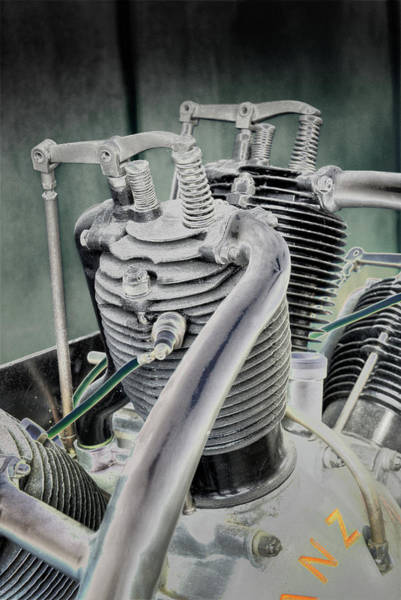 Photograph - Small Radial Engine by Dennis Dame