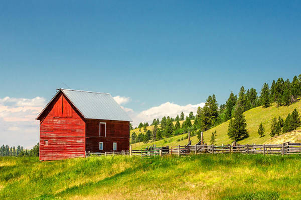Photograph - Small Red Shed by Todd Klassy