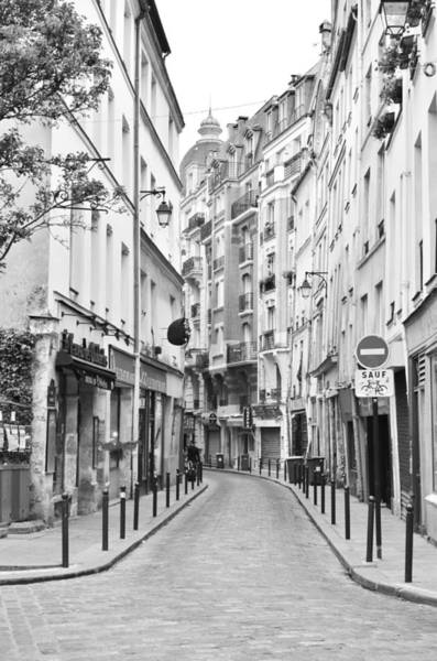 Photograph - Small Street In Paris 2 by Kim Bemis