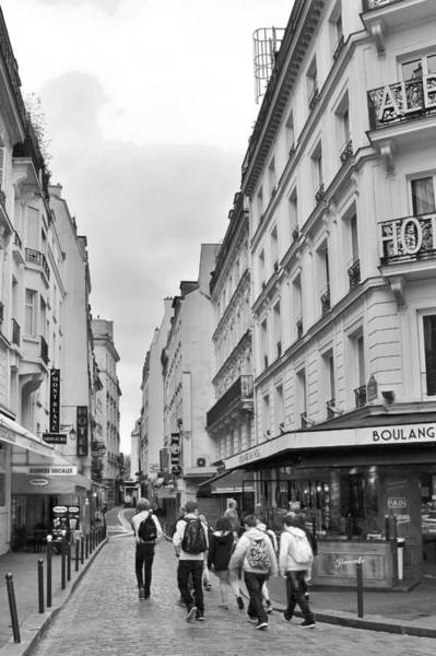 Photograph - Small Street In Paris by Kim Bemis
