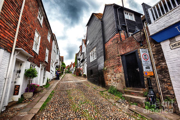 Photograph - small street in Rye, Sussex , UK by Ariadna De Raadt
