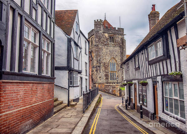 Photograph - small street to St Clement cathedral in Hastings, UK by Ariadna De Raadt