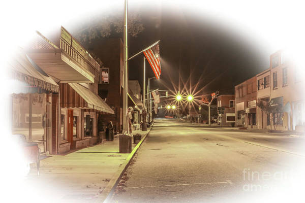 Photograph - Small Town America #1 by Tom Claud