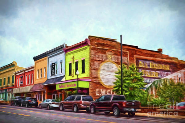 Radford Photograph - Small Town America - Main Street In Radford Virginia by Kerri Farley