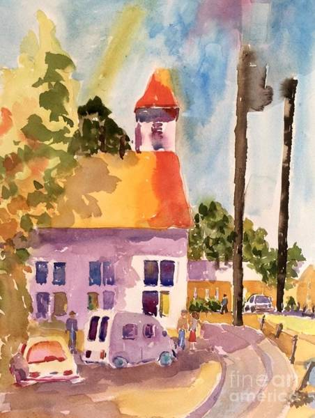 Painting - Small Town America by Patsy Walton