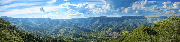 Photograph - Small Town And Landscape Of Mountains In Spain by Fine Art Photography Prints By Eduardo Accorinti
