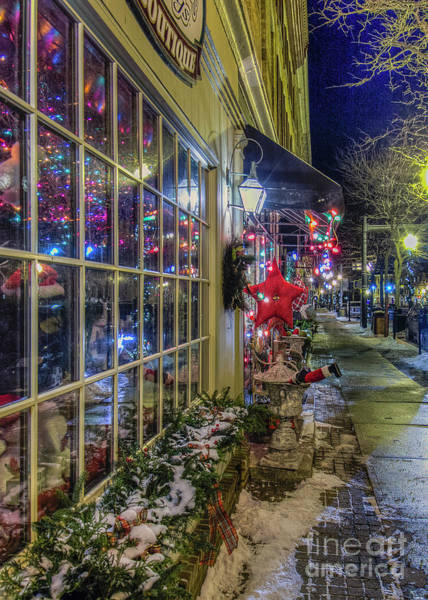 Photograph - Small Town Christmas by Rod Best