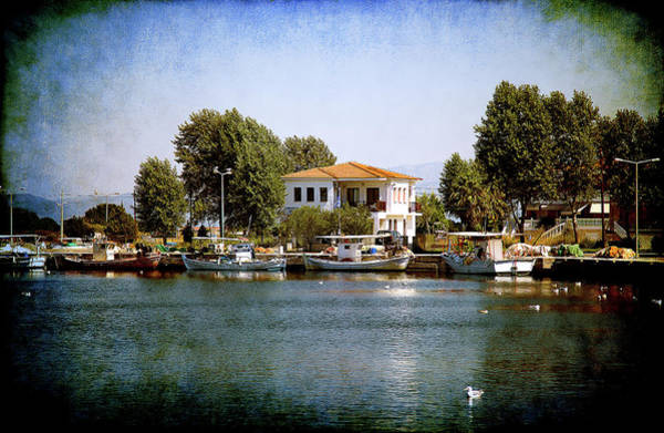 Photograph - Small Town In Greece by Milena Ilieva