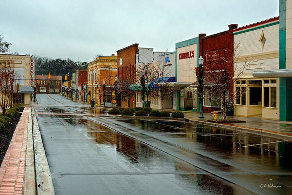 Photograph - Small Town Sunday Morning by Christopher Holmes