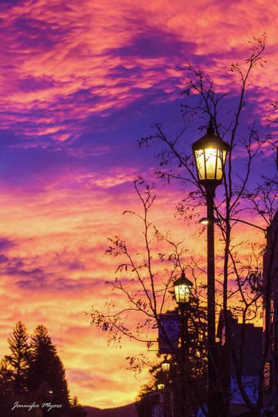 Westcliffe Photograph - Small Town Sunrise by Jennifer Myers