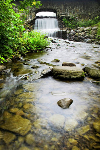 Photograph - Small Waterfall In Country Creek by Christina Rollo