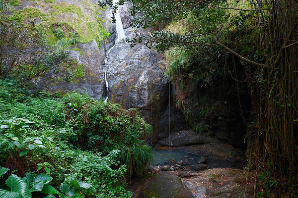 Photograph - Small Waterfall by Ricardo J Ruiz de Porras