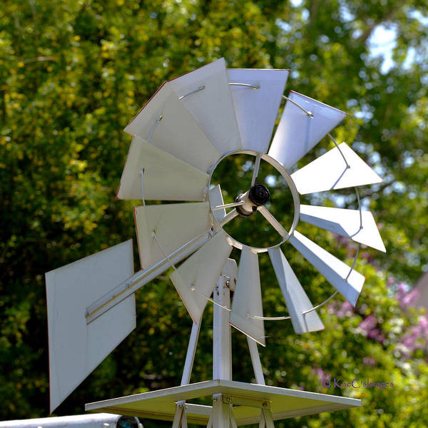 Wall Art - Photograph - Small Windmill by Kae Cheatham