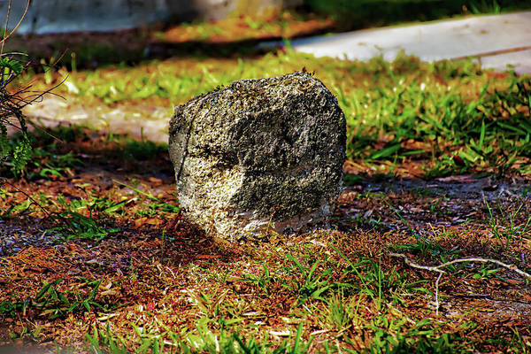 Photograph - Smallest Headstone by Gina O'Brien