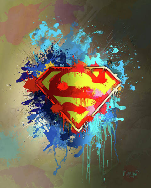 Man Of Steel Wall Art - Digital Art - Smallville by Anthony Mwangi