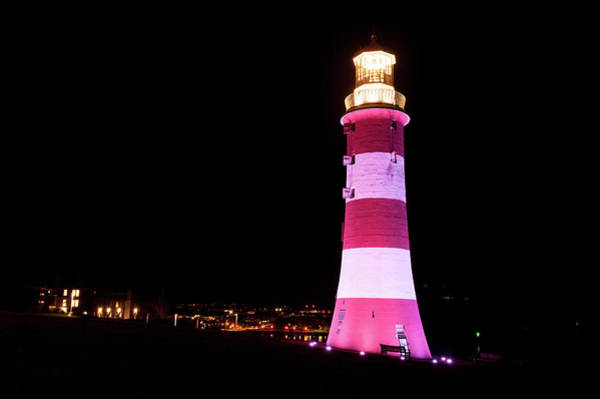 Photograph - Smeaton's Tower Plymouth by Helen Northcott