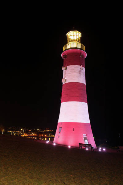 Photograph - Smeaton's Tower Plymouth II by Helen Northcott