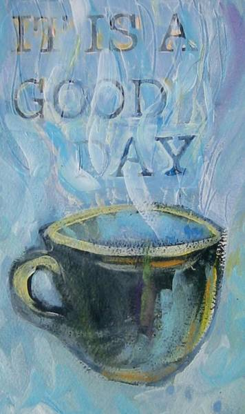 Painting - Smell The Coffee by Tilly Strauss