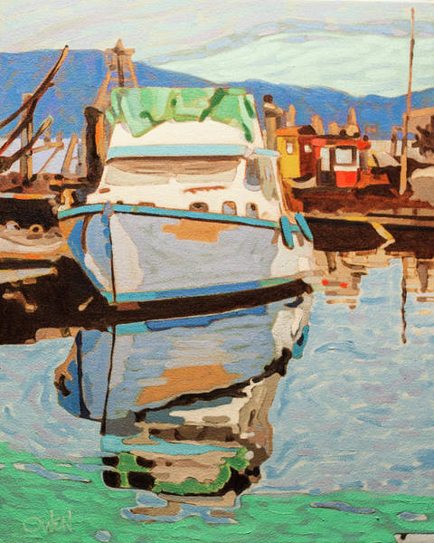 Painting - Smi Reflections by Rob Owen