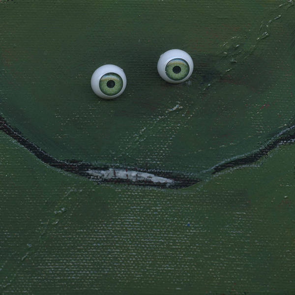 Painting - Smiin Eyes Number 5 by Tim Nyberg