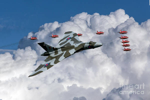 Avro Vulcan Wall Art - Digital Art - Smile Because It Happened by J Biggadike